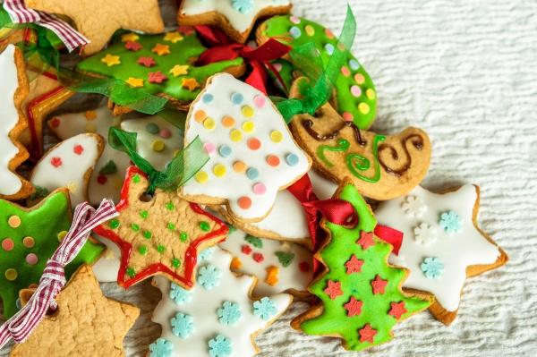 déco de Noël en pâte à sel bons à manger