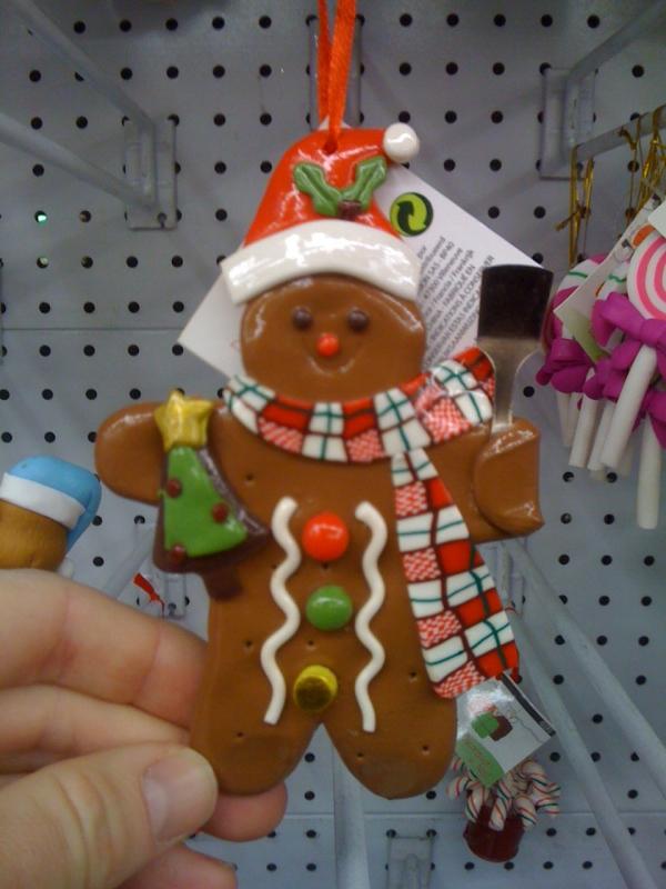 déco de Noël en pâte à sel quel bonhomme sympa