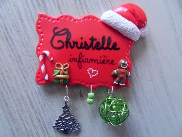 déco de Noël en pâte fimo décoration cadeau