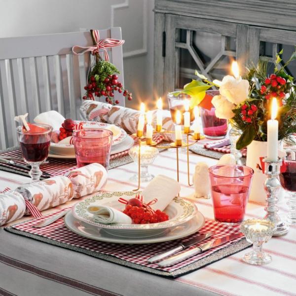 déco de table noël style nordique
