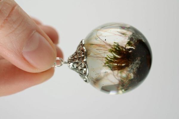 diy bijoux en résine transparente boucles d'oreilles