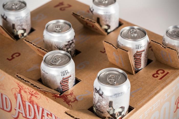 diy calendrier de l'Avent homme de bière