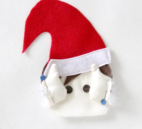 diy elfe de Noël étape suivante
