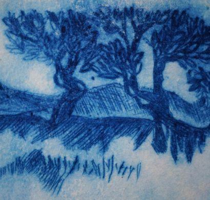 lithogravure sur carton