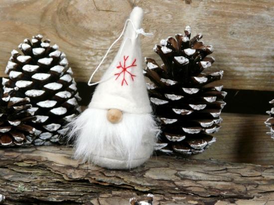 diy mini gnome de noël