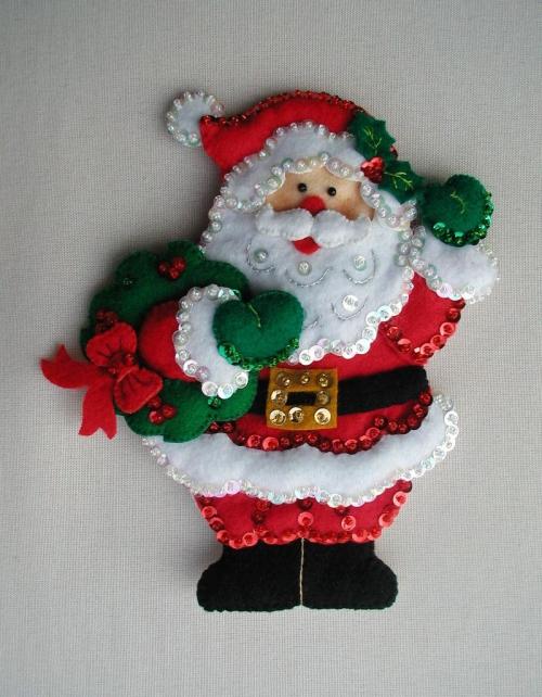 fabriquer un Père Noël un chef d'oeuvre