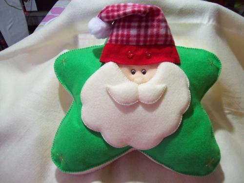 fabriquer un Père Noël un coussin mou