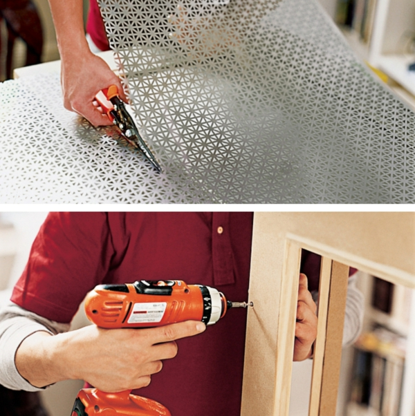 сделать деревянную крышку радиатора