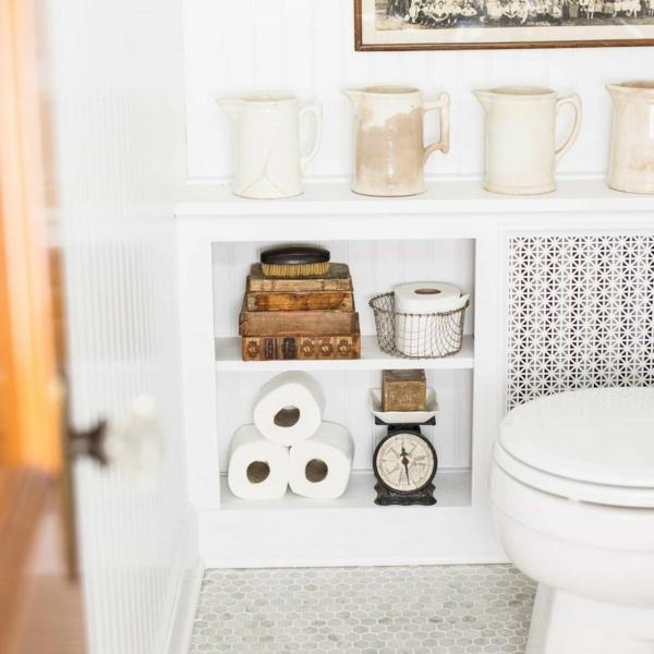 сделать крышку радиатора для ванной комнаты шкаф для хранения