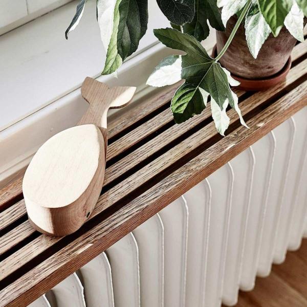 fabriquer un cache-radiateur rangement minimaliste sous cadre de fenêtre