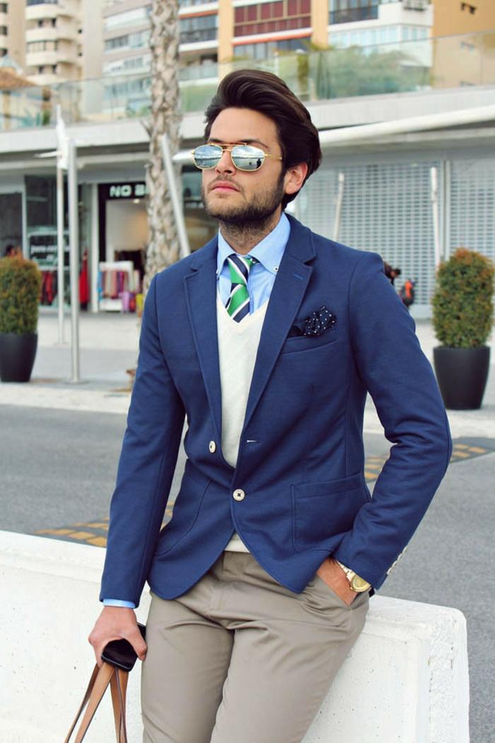 faire un noeud de cravate look moderne