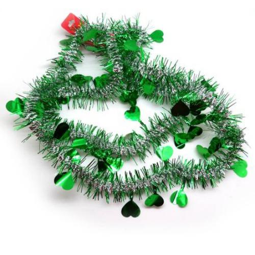 guirlande de Noël artificielle et verte