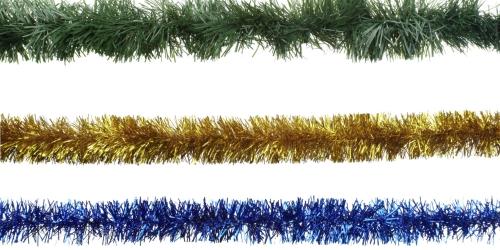 guirlande de Noël trois couleurs