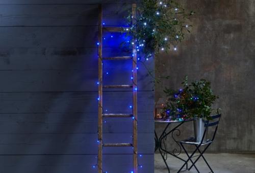 guirlande de Noël une échelle lumineuse