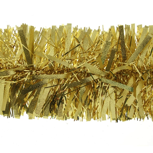 guirlande de Noël variante dorée