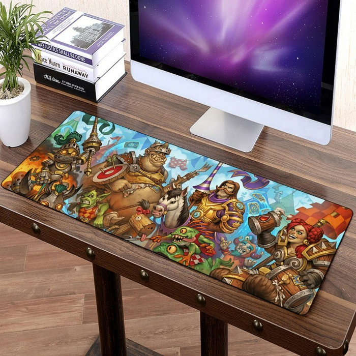 idée cadeau geek tapis de souris grand