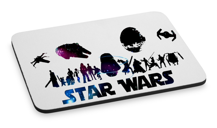 idée cadeau geek tapis de souris star wars