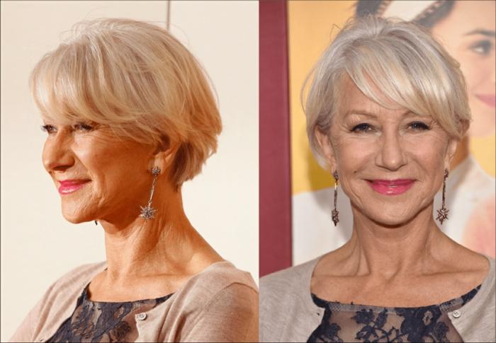 idée de coiffure coupe cheveux courts femme 50 ans
