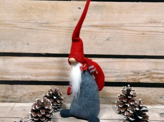 idée de gnome de noël à fabriquer soi-même