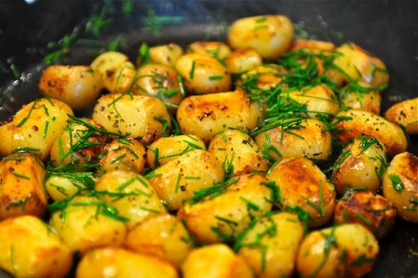 idée menu végétarien pommes de terre cuites
