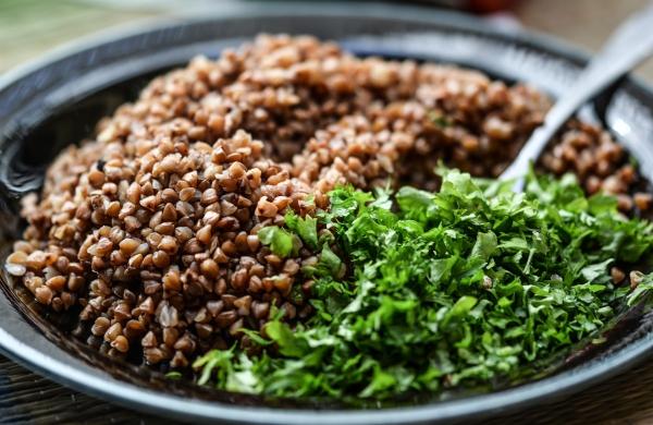 idée menu végétarien soupe au sarrasin