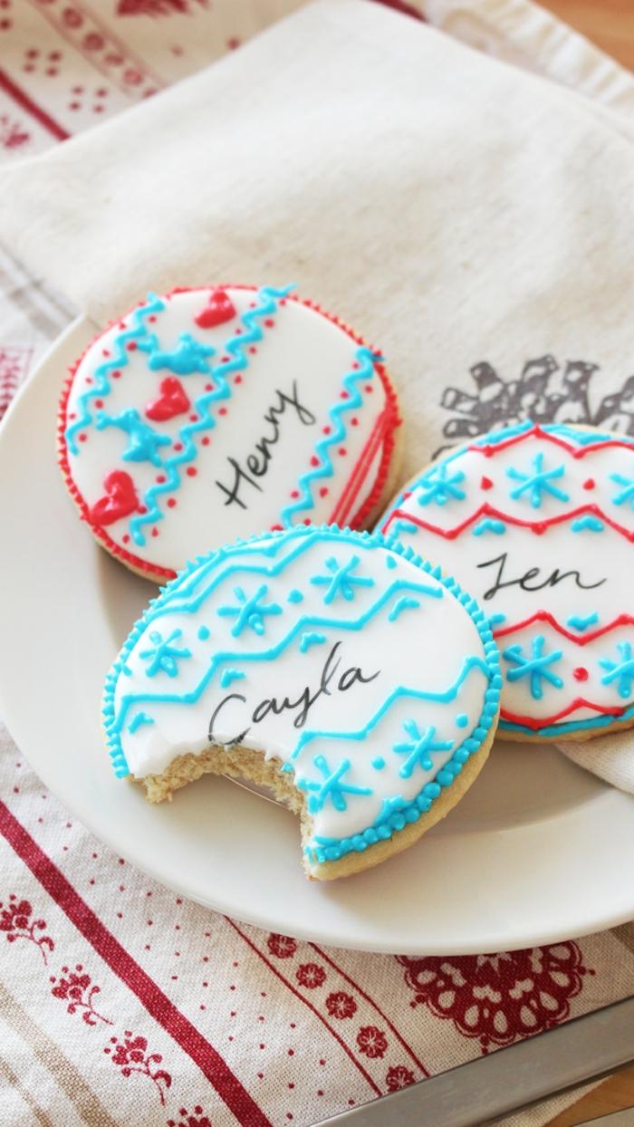 40+ idées faciles de marque-place Noël à faire soi-même