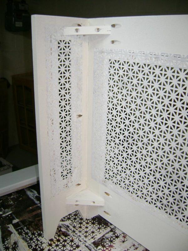 idée pour fabriquer un cache-radiateur