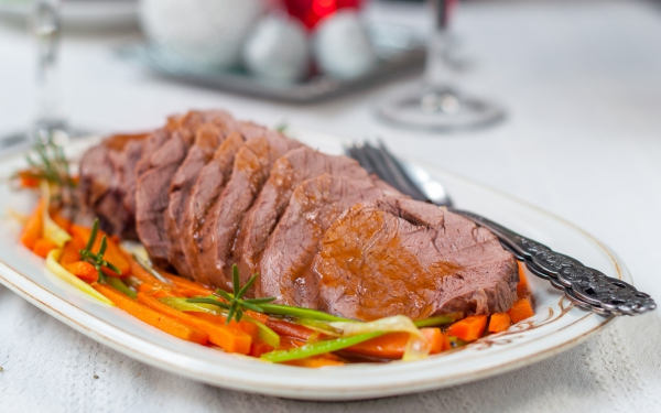 idées repas Noël de la viande rouge