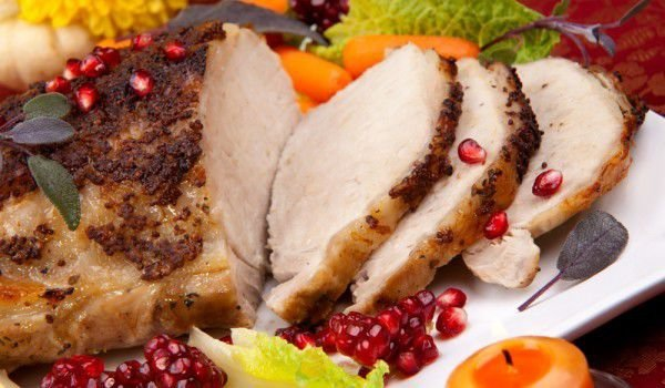 idées repas Noël du porc succulent