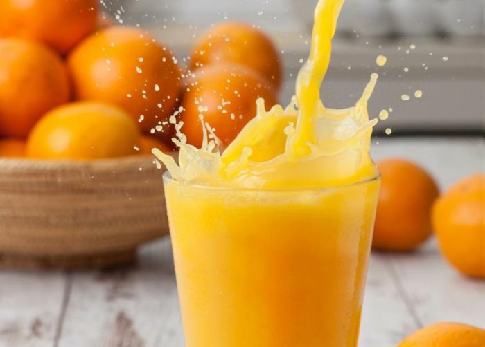jus d'orange pour combattre le rhume