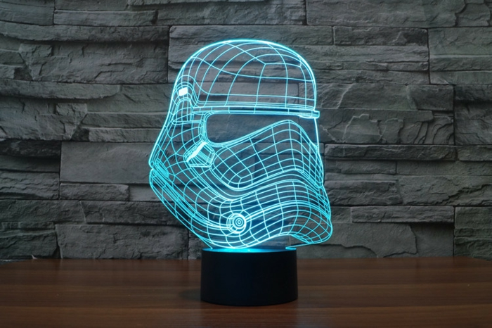 lampe star wars idée cadeau geek