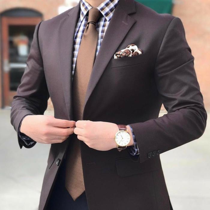 look élégant faire un noeud de cravate