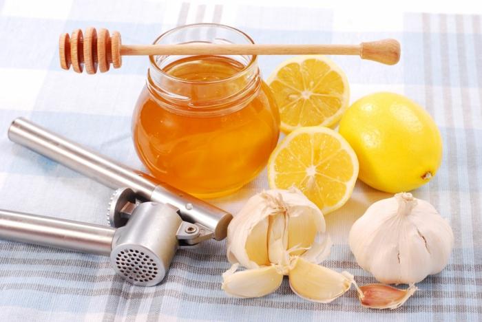 miel et ail pour combattre le rhume