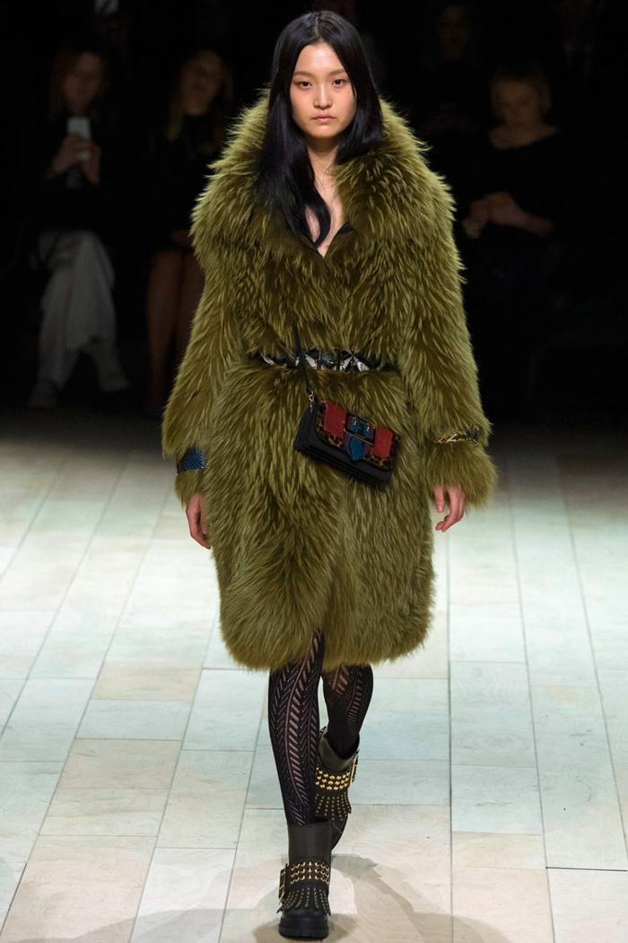 mode femme manteau en fausse fourrure