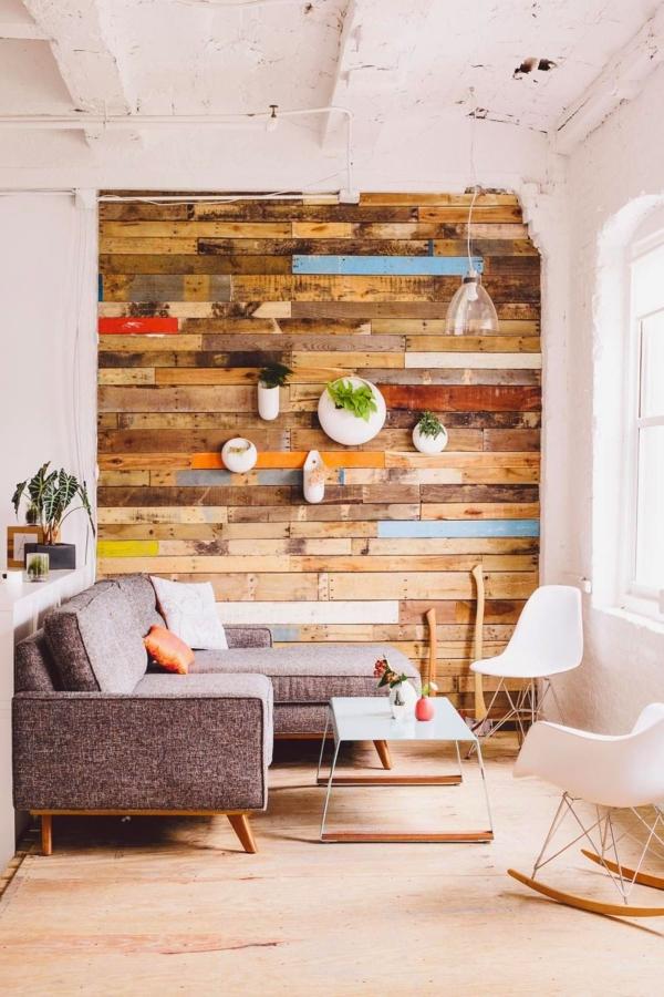 mur végétal palette style scandinave