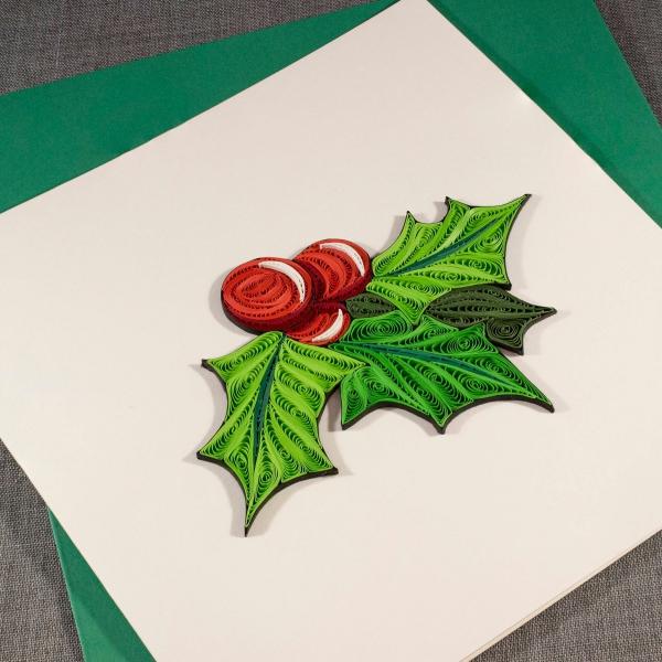 quilling Noël décoration sophistiquée