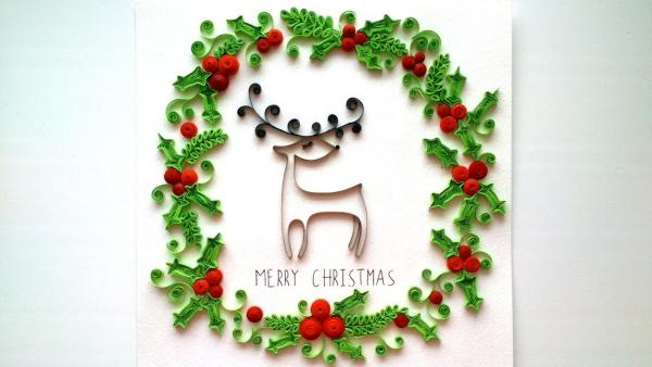 quilling Noël image fantastique