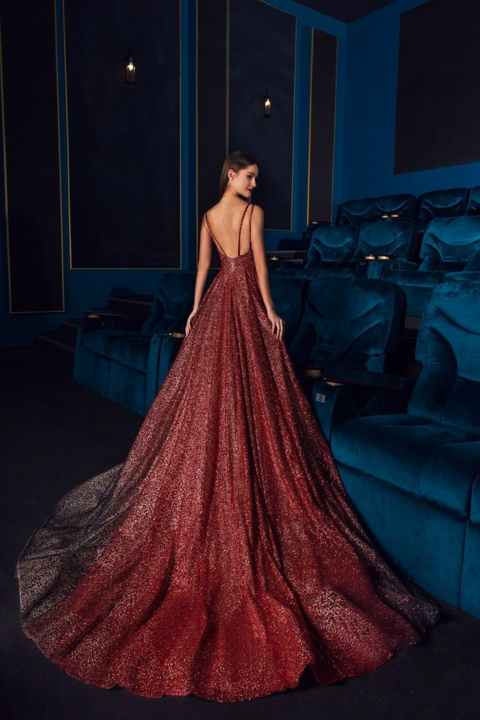 robe de soirée longue magnifique