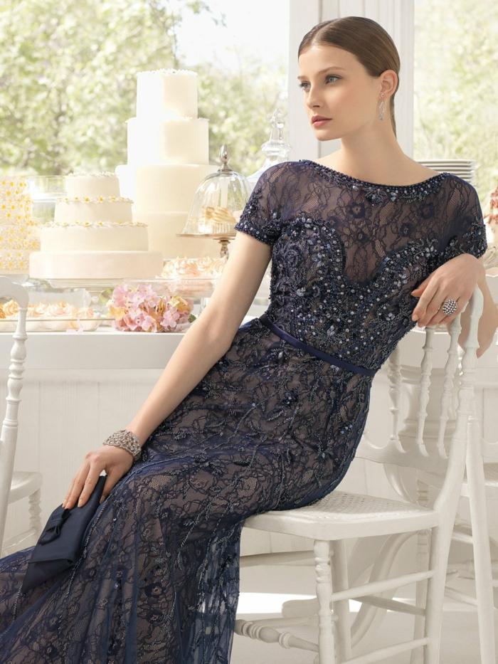 robe de soirée longue tenue invité mariage