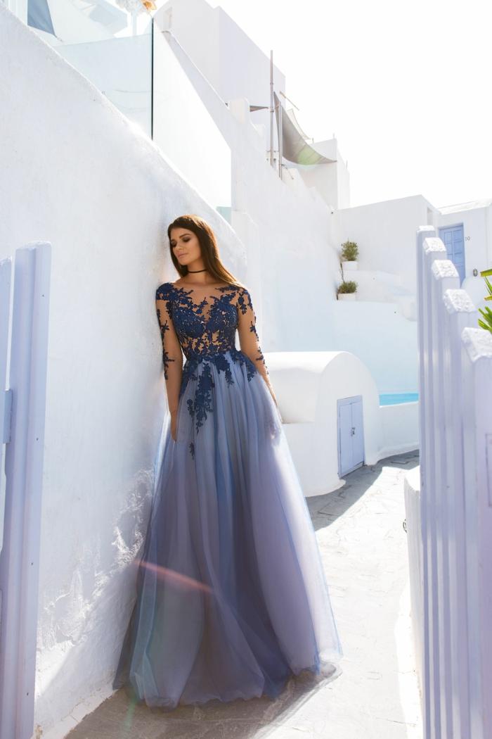 robe de soirée longue très élégante