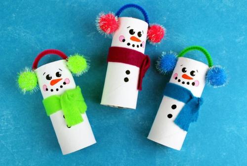 30 Idées De Déco Noël à Fabriquer à Partir De Rouleau Papier Toilette