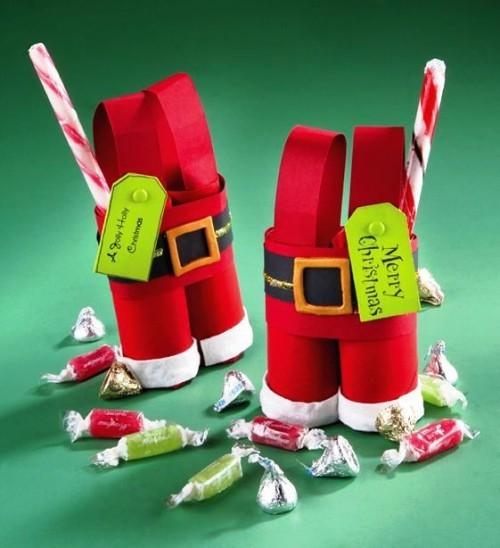 rouleau papier toilette sacs de bonbons