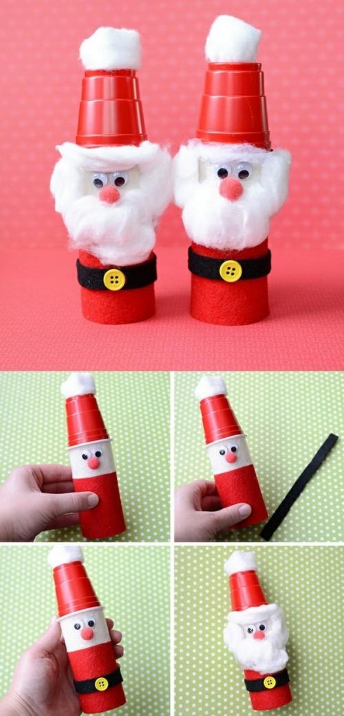 rouleau papier toilette un Père Noël