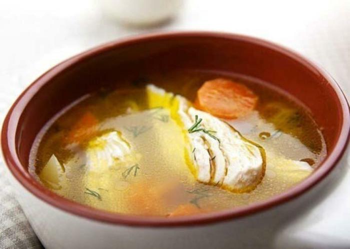 soupe au poulet idée comment combattre le rhume