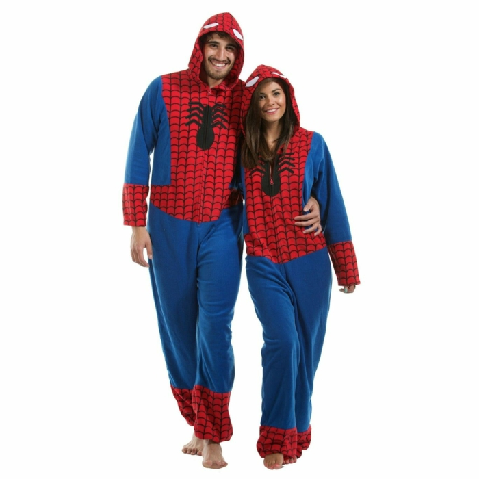 spiderman onesie idée cadeau geek