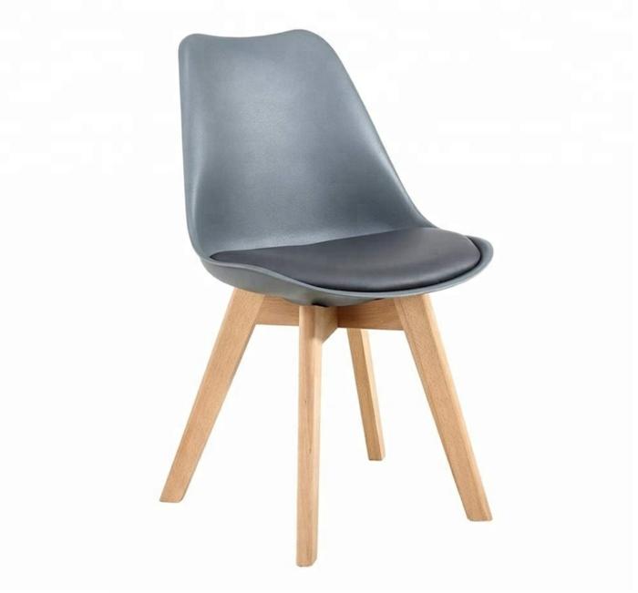tendances mobilier hôtellerie et restauration chaise tulip gris