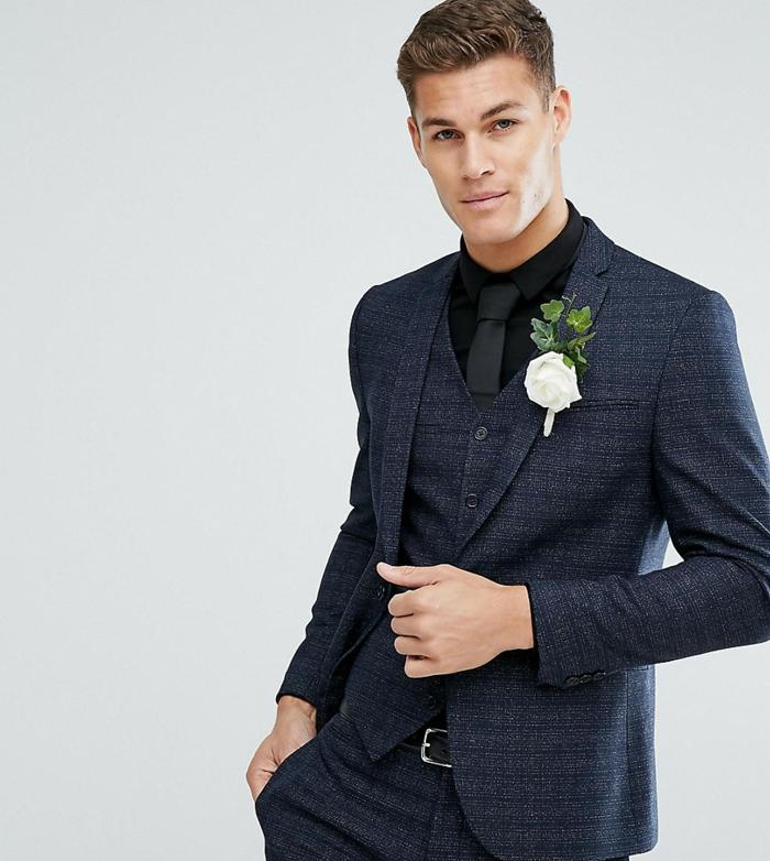 tenue mariage faire un noeud de cravate