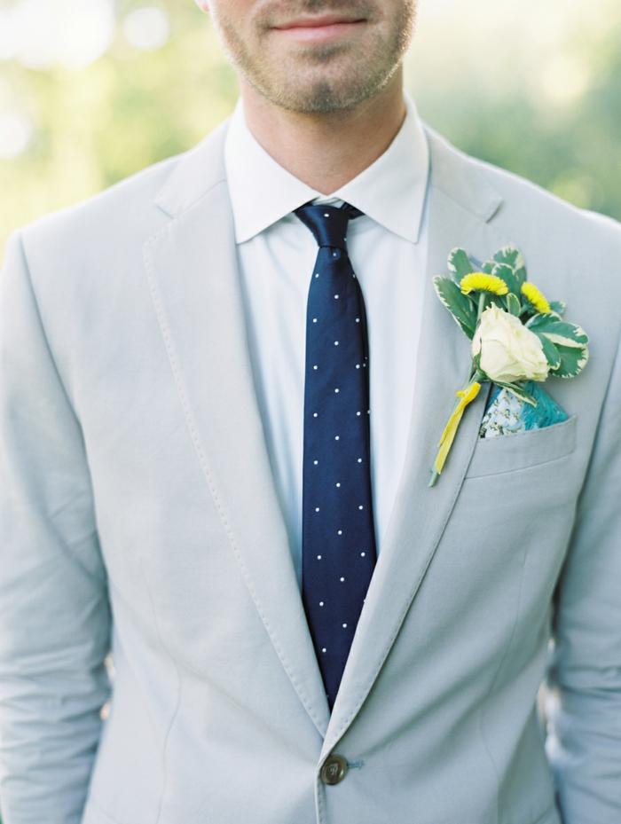 tenue mariage idée faire un noeud de cravate