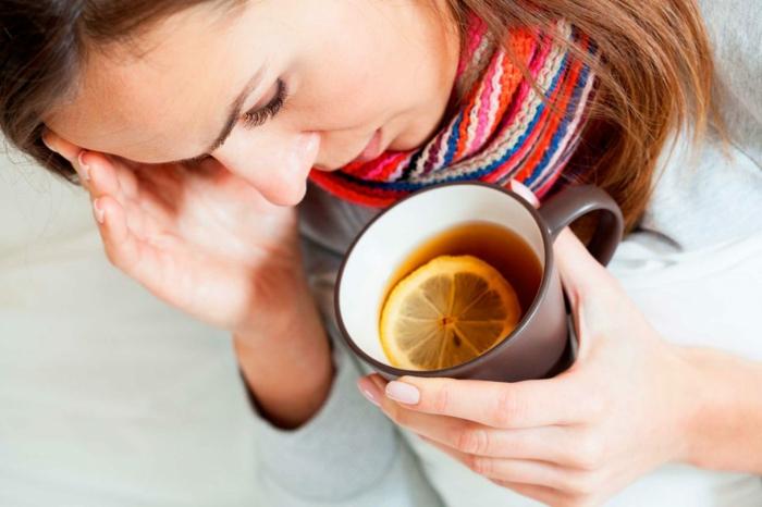 thé pour combattre le rhume