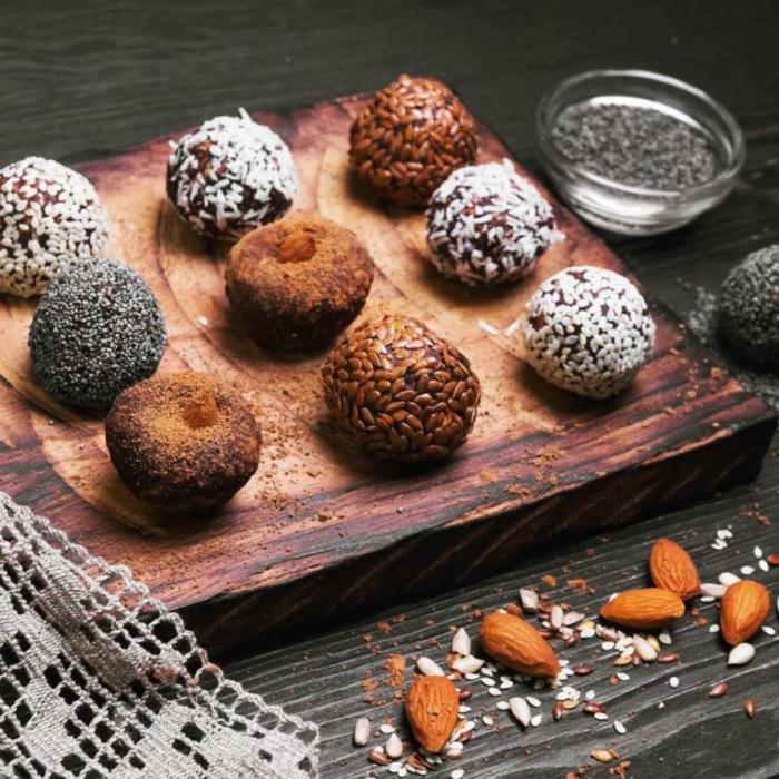 variantes de la recette truffes au chocolat